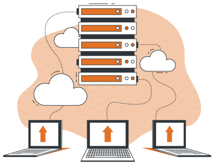 Cloud Magento Hosting – Cloud Server connected to Magento Storefronts